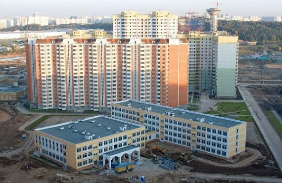 Новый жилой комплекс «Павшинская пойма»