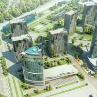 Современный жилой комплекс