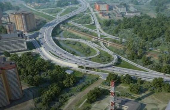 Интенсивное строительство Красногорска