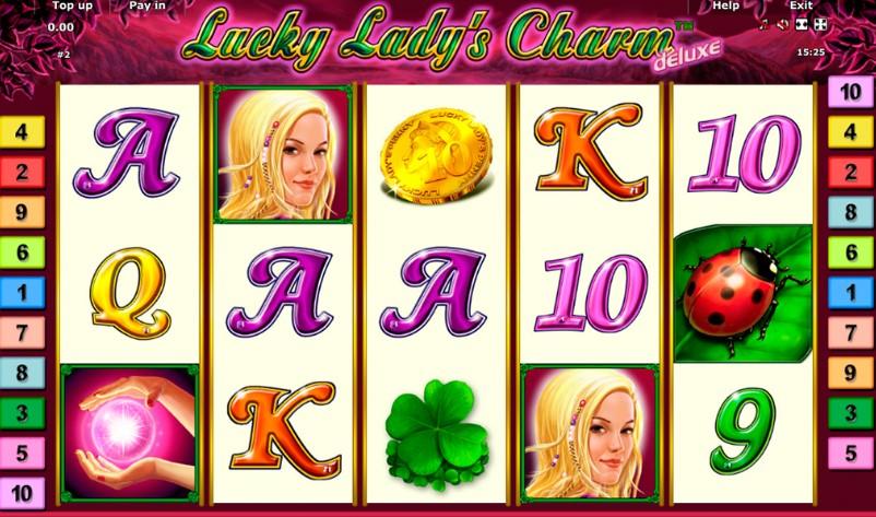 Игра онлайн Lucky Lady's Charm