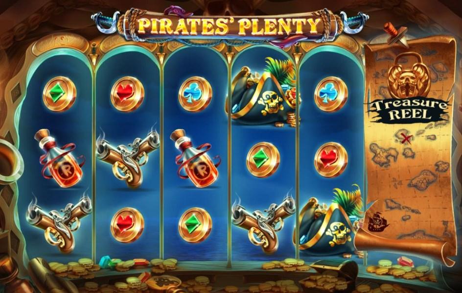 Игровой автомат Pirates'Plenty