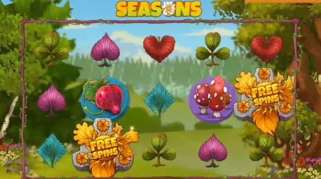 Автомат онлайн Seasons