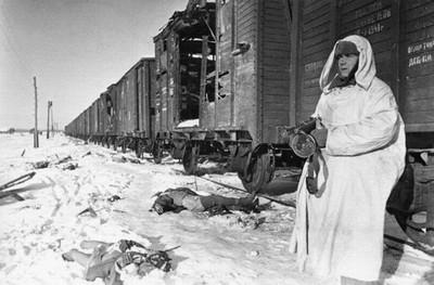 Красногорск. Город во время войны