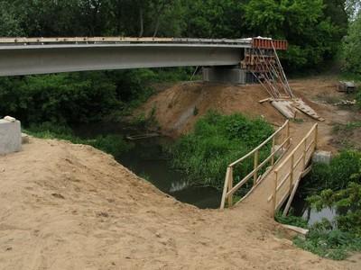 Строительство пешеходного моста - осуществится ли оно?