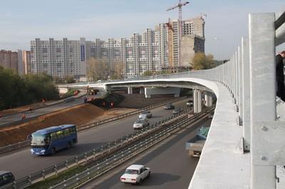 Светодиодные светофоры и новые дома в Павшинской пойме